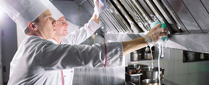 commercial kitchen equipment maintenance